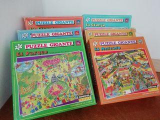 vendo puzzles en buen estado piezas grandes