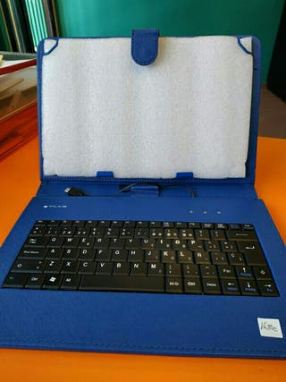 Funda tablet con teclado