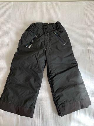 Pantalón negro esquí niño niña