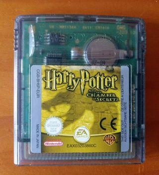 Juego Nintendo Game Boy HARRY POTTER CAMARA SECRET