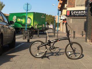 Bicicleta plegable completamente restaurada