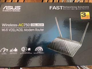 ASUS modem router dsl ac51