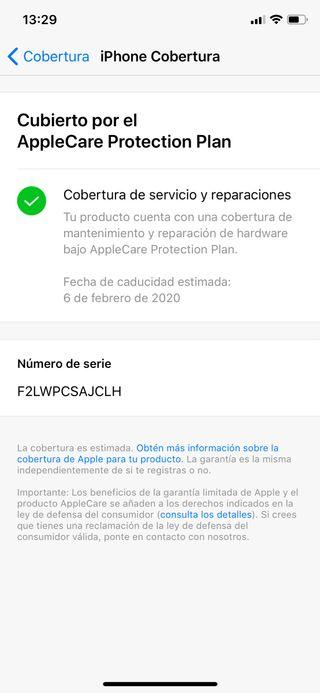 IPhone X 64 IMPOLUTO