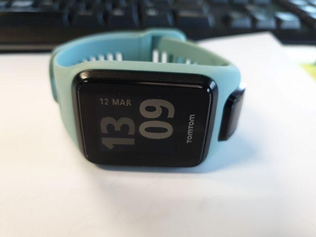 reloj GPS pulsera actividad tom tom 3 cardio music