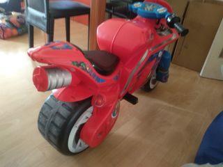Moto eléctrica Spiderman
