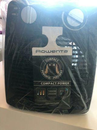 Calefactor nuevo Rowenta