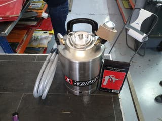 tanque inox 10L