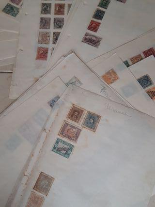 Lote sellos paises mundo 1920-1950