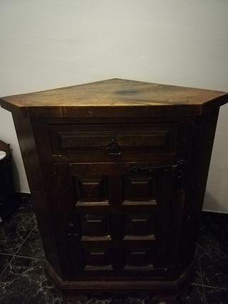 Mueble esquinero antiguo