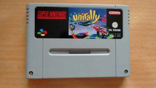 Unirally Super Nintendo Snes