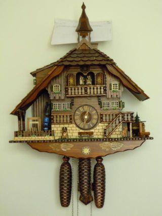 Reloj Cuco Selva Negra Anton Schneider