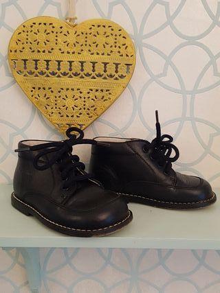 Zapatos bebé n 22 piel