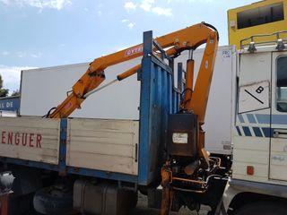 camion pegaso 1214 con grua 8 metros