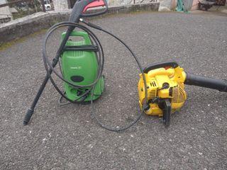 soplador de aire alpina y catcher de agua Casals
