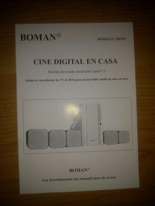 Home Cinema marca BOMAN