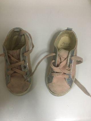 Zapatillas deportivas niña talla 26