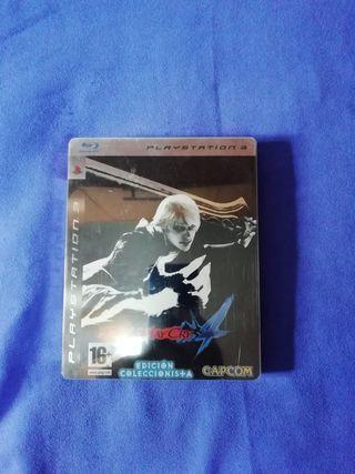 Devil May Cry 4 edición coleccionista PS3