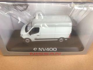 Maquetas Nissan nv200 nv400 escala 1/43