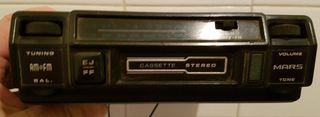 radio cassette mars car vintage