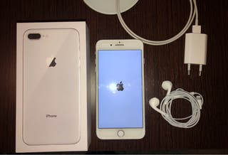 Iphone 8 plus 64gb blanco/plata