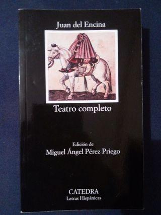 Teatro completo Juan del Encina