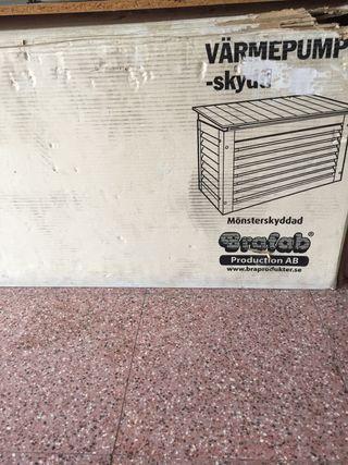 Caseta de exterior para compresor de aire acondici