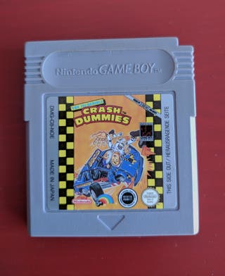 THE INCREDIBLE CRASH DUMMIES GAME BOY