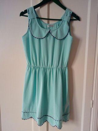 vestido azul claro marca Kling