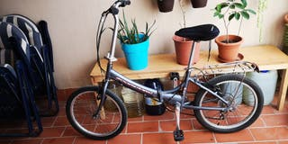 bicicleta plegable aluminio ligera
