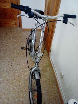 Bicicleta, Folding street 08 aluminio , plegable