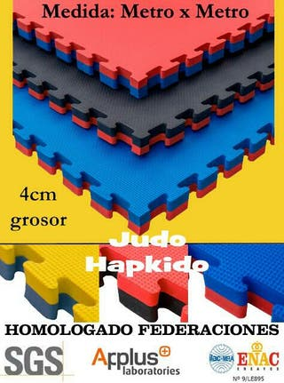 Tatami nuevo, 4cm grosor para Judo, Hapkido...