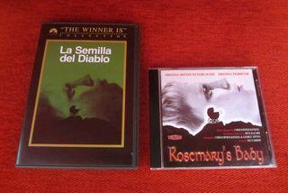 CD banda sonora La semilla del diablo + DVD