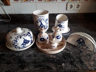 juego de porcelana