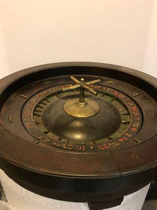 Enorme ruleta americana antigua