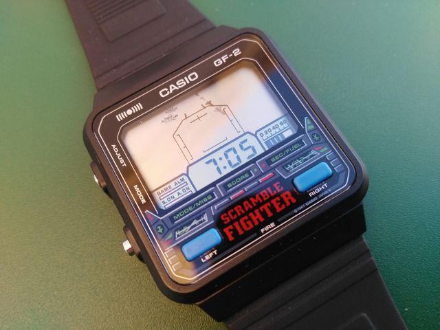 Reloj casio GF-2 juego game watch