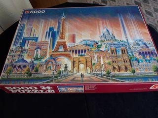 Puzzles 5000 piezas París Futura