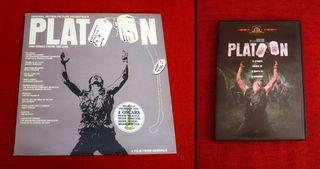 Vinilo banda sonora Platoon + DVD