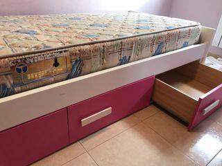 Preciosa habitación infantil/juvenil completa.