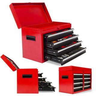 caja de herramientas con herramientas