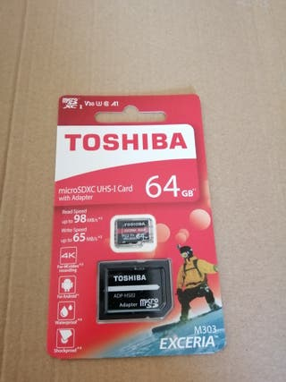 Tarjeta Memoria MicrosdXC 64GB