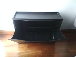 Zapatero negro Ikea modelo Trones
