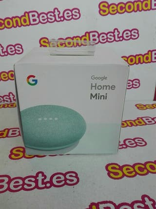 Google Home Mini en verde