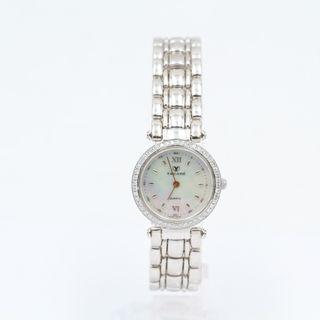 Por E330182d Segunda Mano Reloj Nácar Con Oro Yacaré Blanco De dxosQBthrC