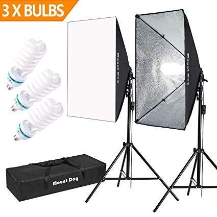 kit de iluminación Softbox fotografía