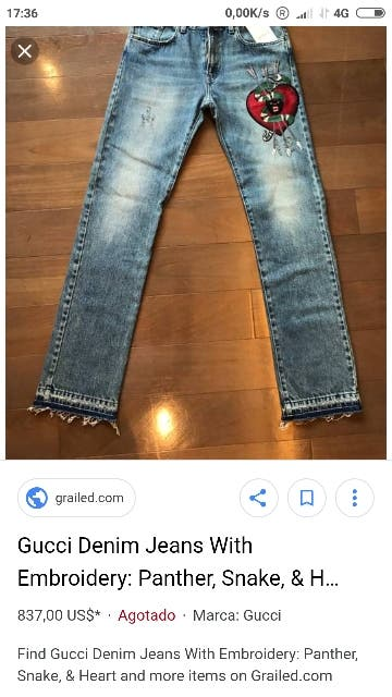 GUCCI DENIM ORIGINAL