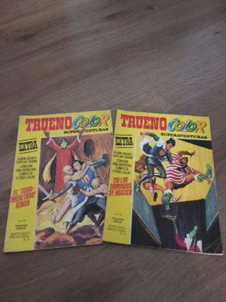 COMICS/TEBEOS BRUGUERA-TRUENO COLOR EXTRA
