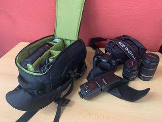 Camara Canon EOS1000D