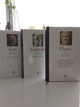 2 libros nuevos,Platon y Kant