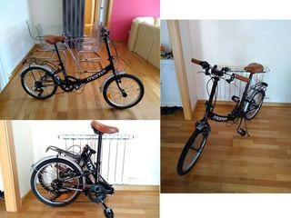 Bicicleta MOMA plegable aluminio