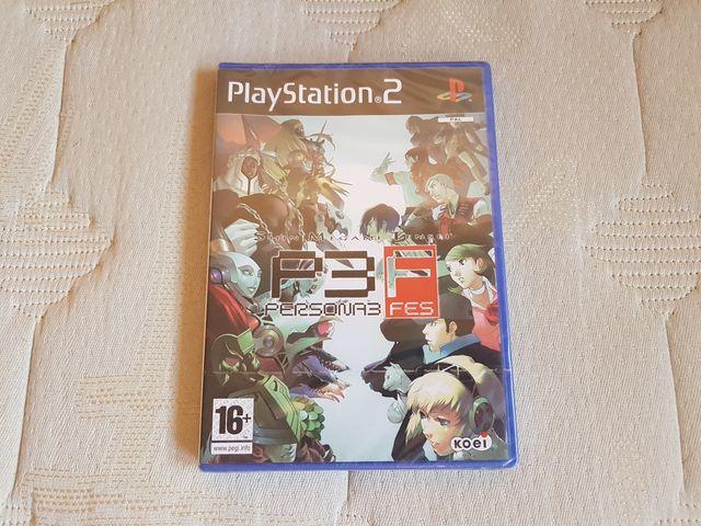 Persona 3 FES Nuevo Precintado PS2